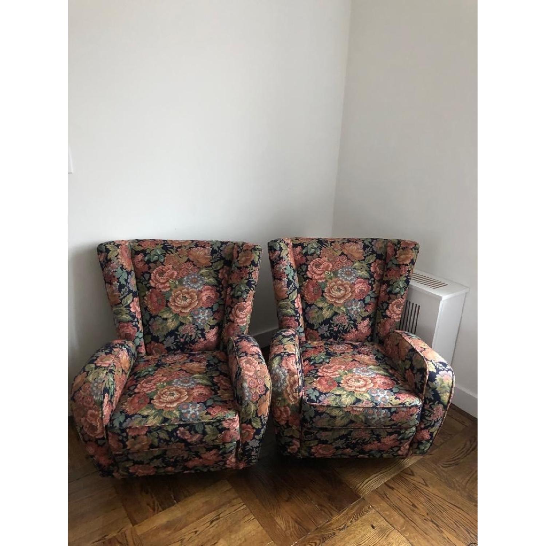 1950s Paolo Buffa Mid Century Armchairs - image-0