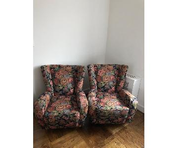 1950s Paolo Buffa Mid Century Armchairs