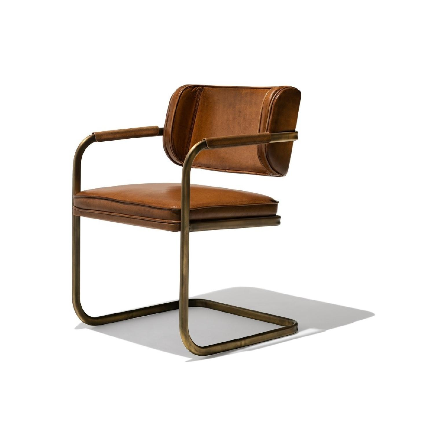 Industry West Jimmy Cooper Chair in Light Brown/Copper - image-0