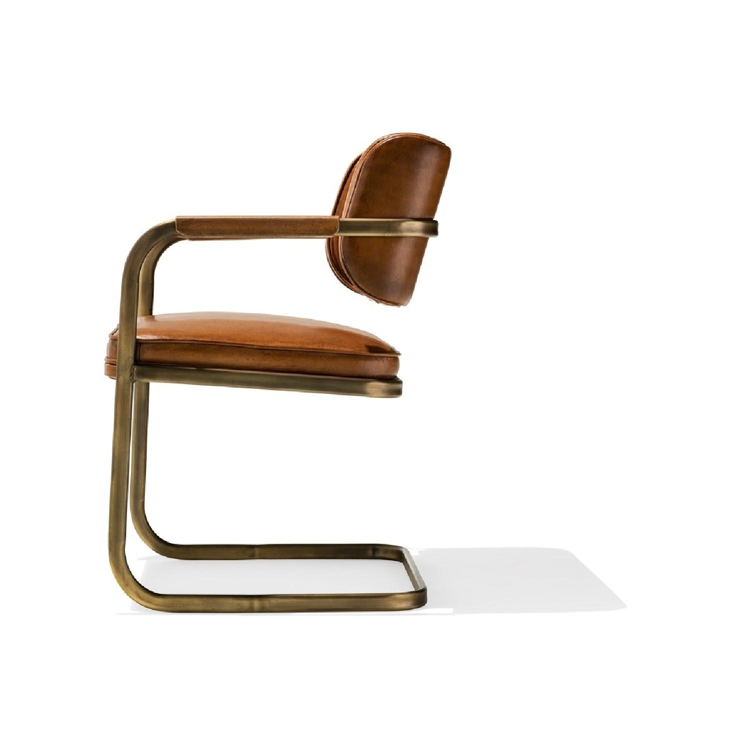Industry West Jimmy Cooper Chair in Light Brown/Copper - image-2