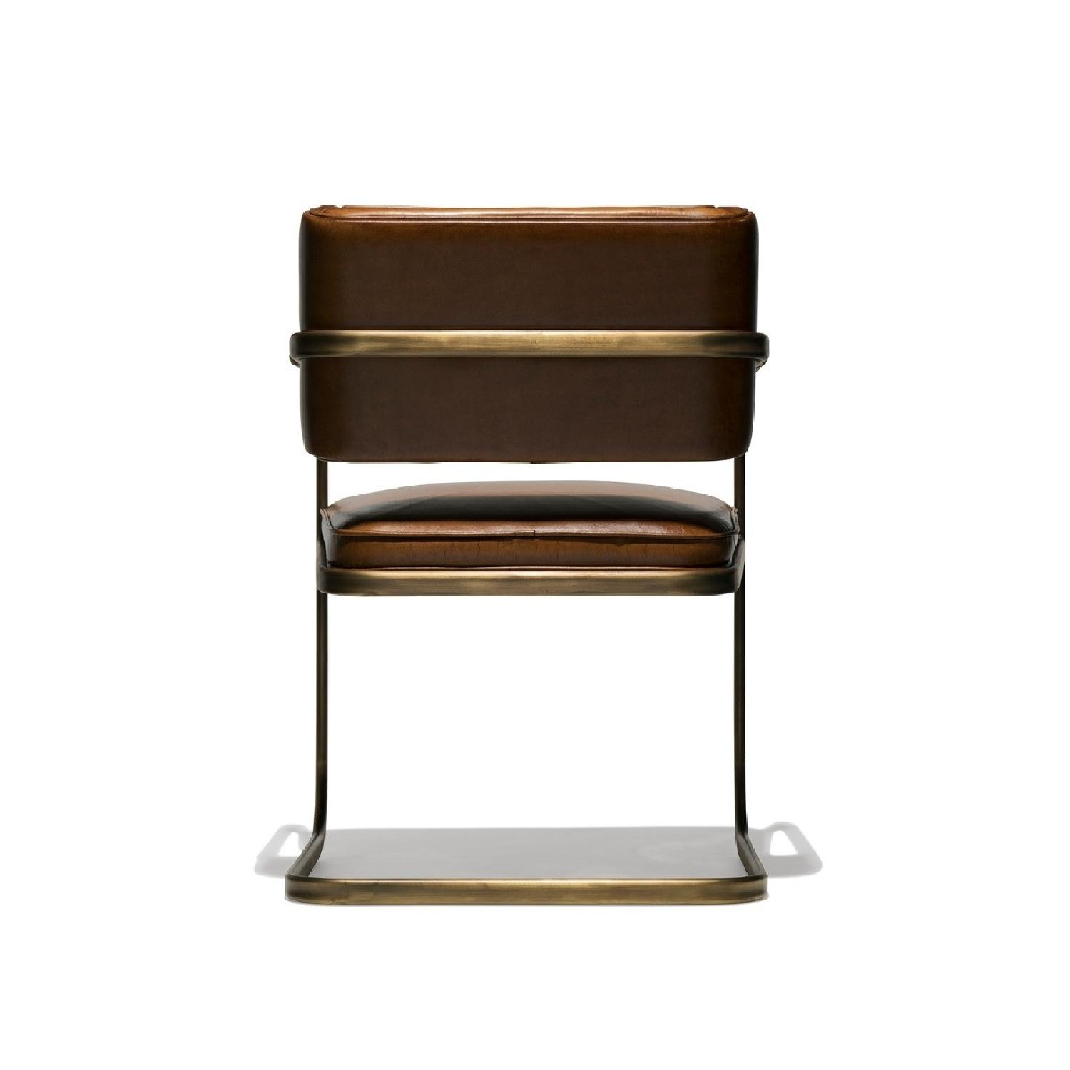 Industry West Jimmy Cooper Chair in Light Brown/Copper - image-3