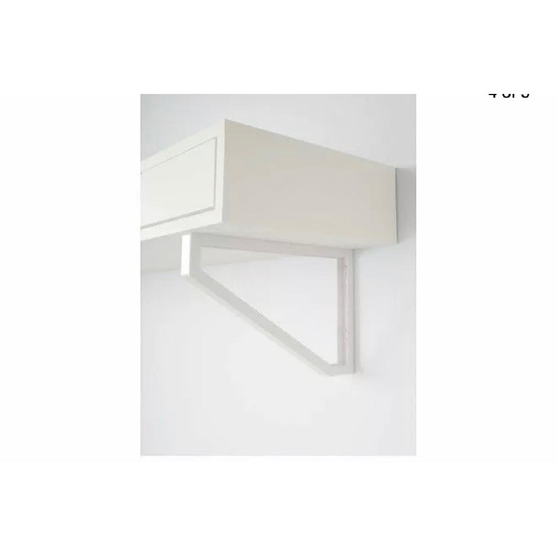 Ikea Ekby Alex Two Drawer Shelf w/ Brackets