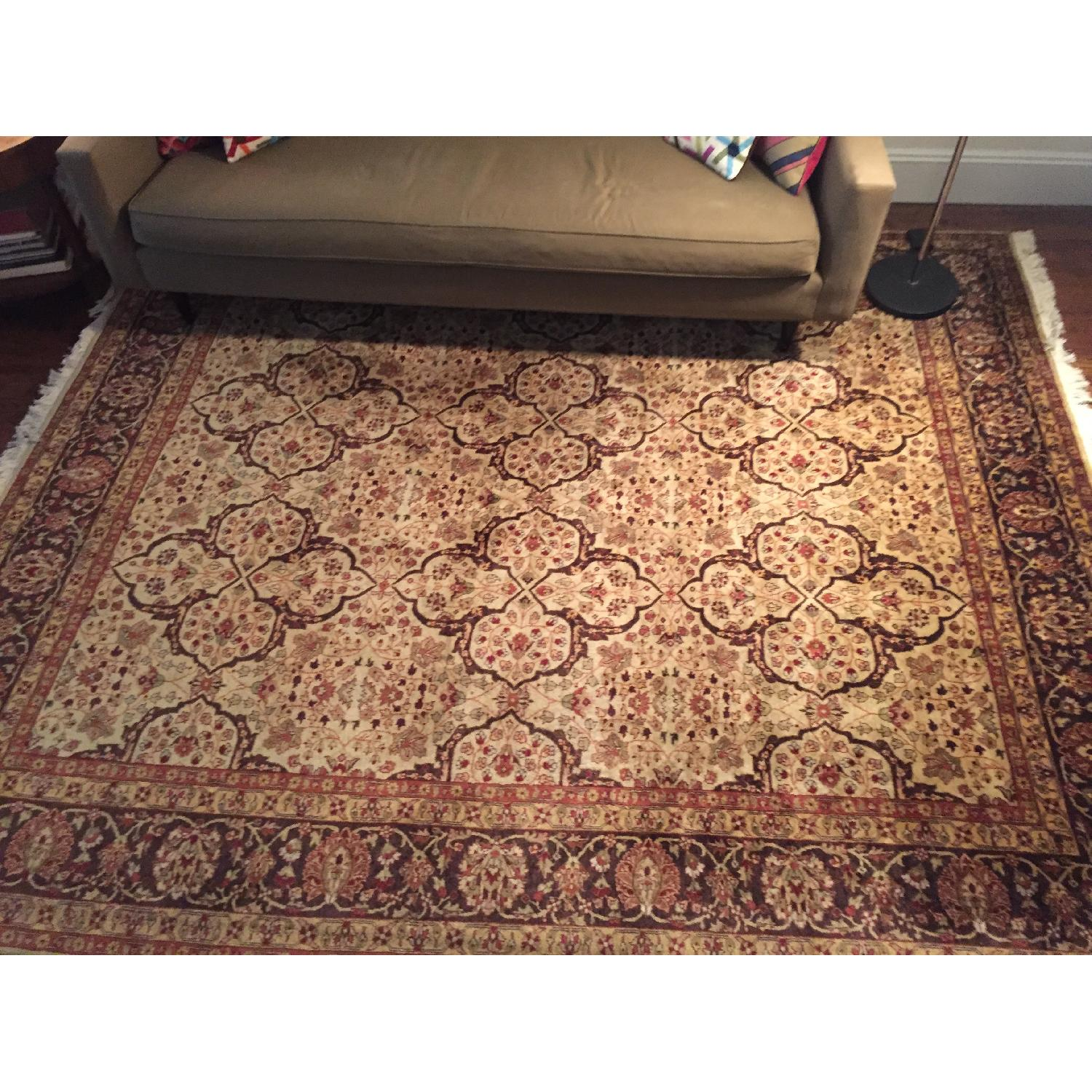 ABC Carpet and Home Tea-Stained Rug - image-1