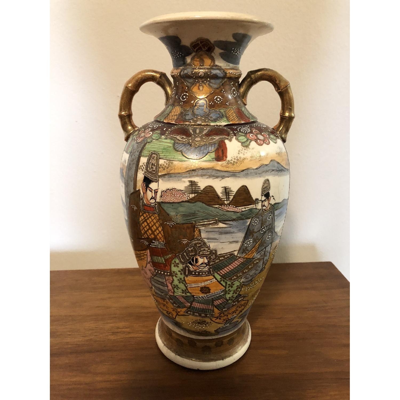 19th Century Chinese Vase w/ Battle Scene - image-2