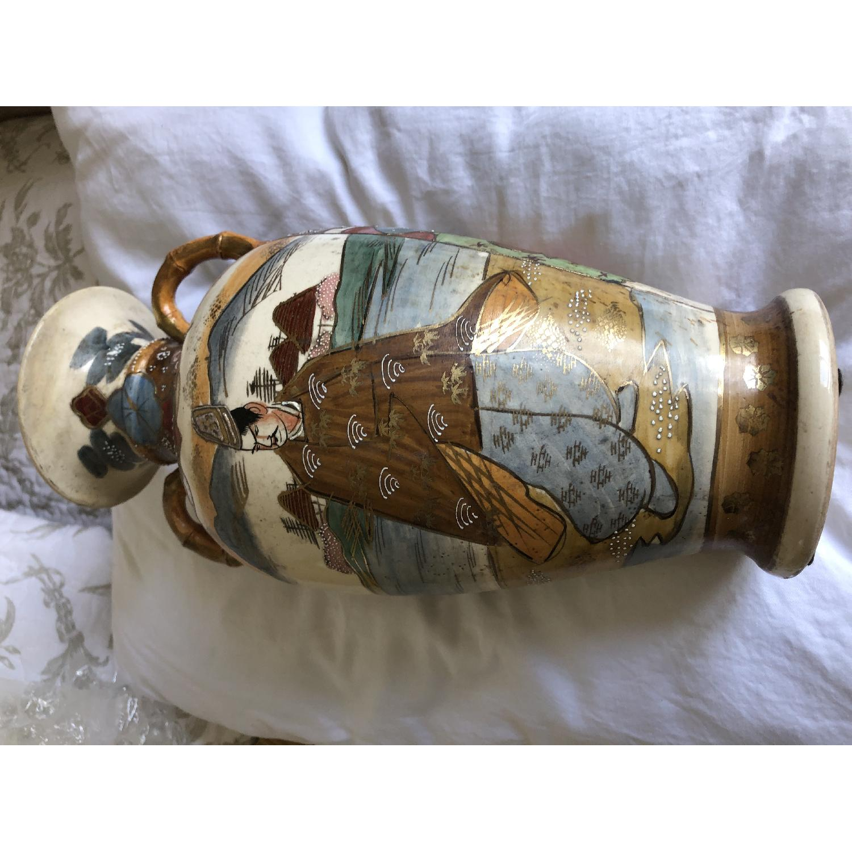 19th Century Chinese Vase w/ Battle Scene - image-4