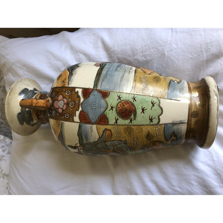 19th Century Chinese Vase w/ Battle Scene - image-6