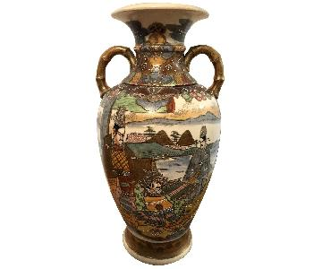 19th Century Chinese Vase w/ Battle Scene