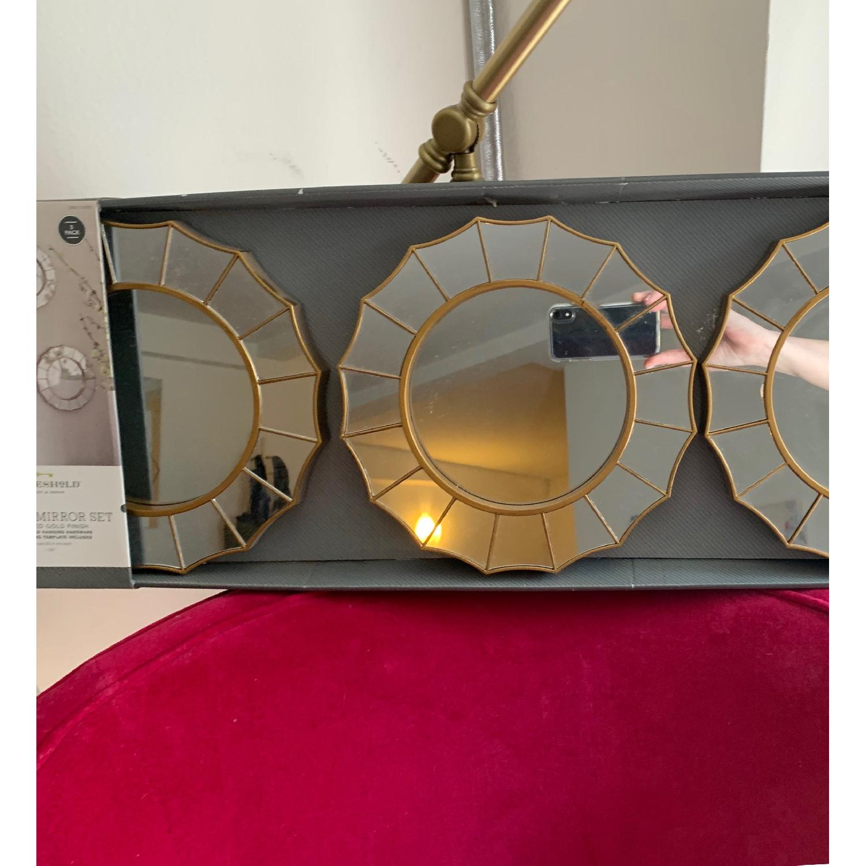 Target Threshold Radial Antique Look Mirror - image-2