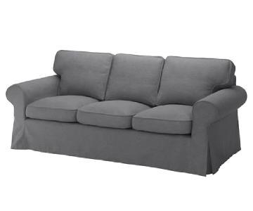 Ikea Ektorp Sofa in Nordvalla Dark Gray