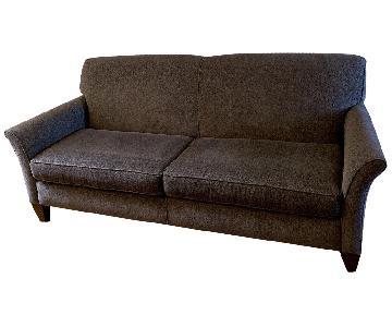 Dark Gray Fabric Sofa
