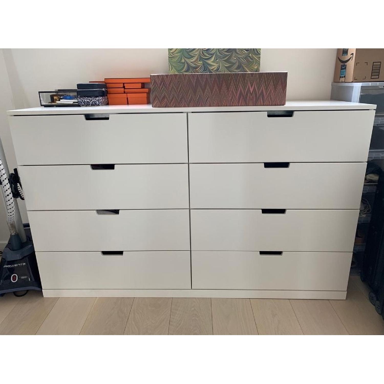 Ikea Nordli Eight Drawer Dresser - image-1