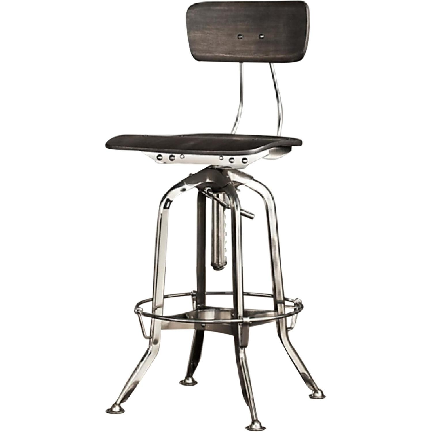 Restoration Hardware 1940S Vintage Toledo Bar Stool