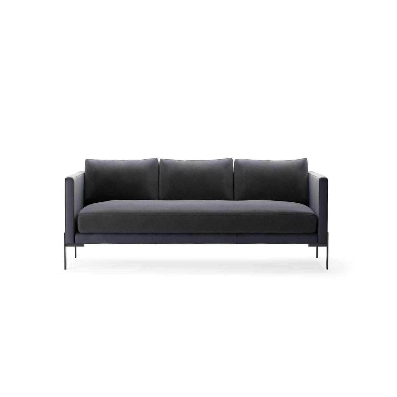 TRNK Truss Sofa in Maharam Fabric & Powder-Coated Steel - image-1