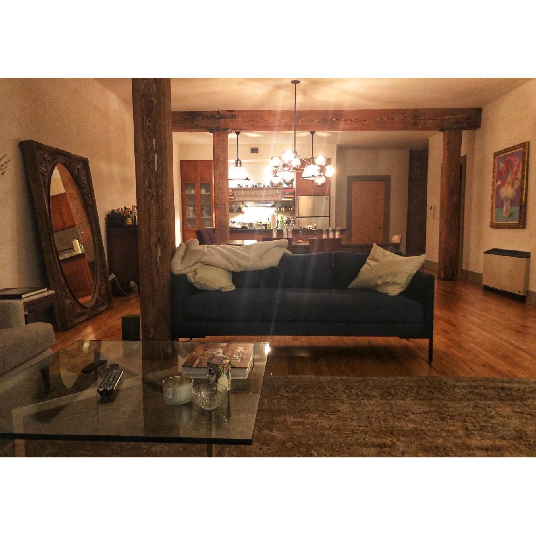 TRNK Truss Sofa in Maharam Fabric & Powder-Coated Steel - image-3