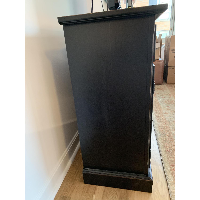 Crate & Barrel Pranzo II Black Sideboard-1