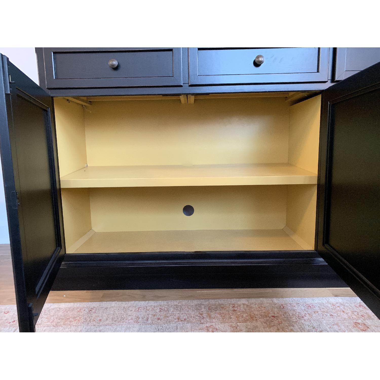 Crate & Barrel Pranzo II Black Sideboard-3