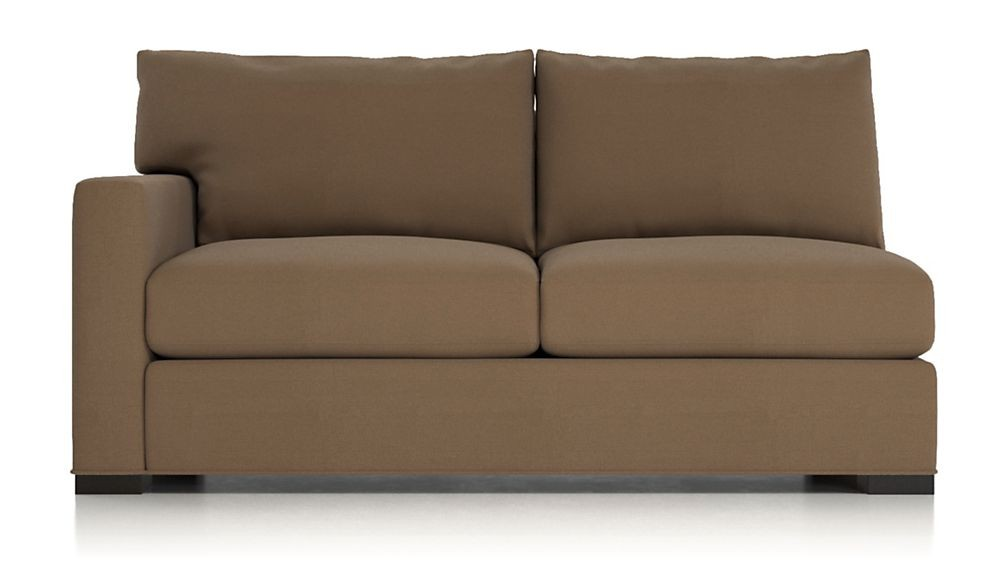 Crate & Barrel Axis 3-Piece Sectional Sofa