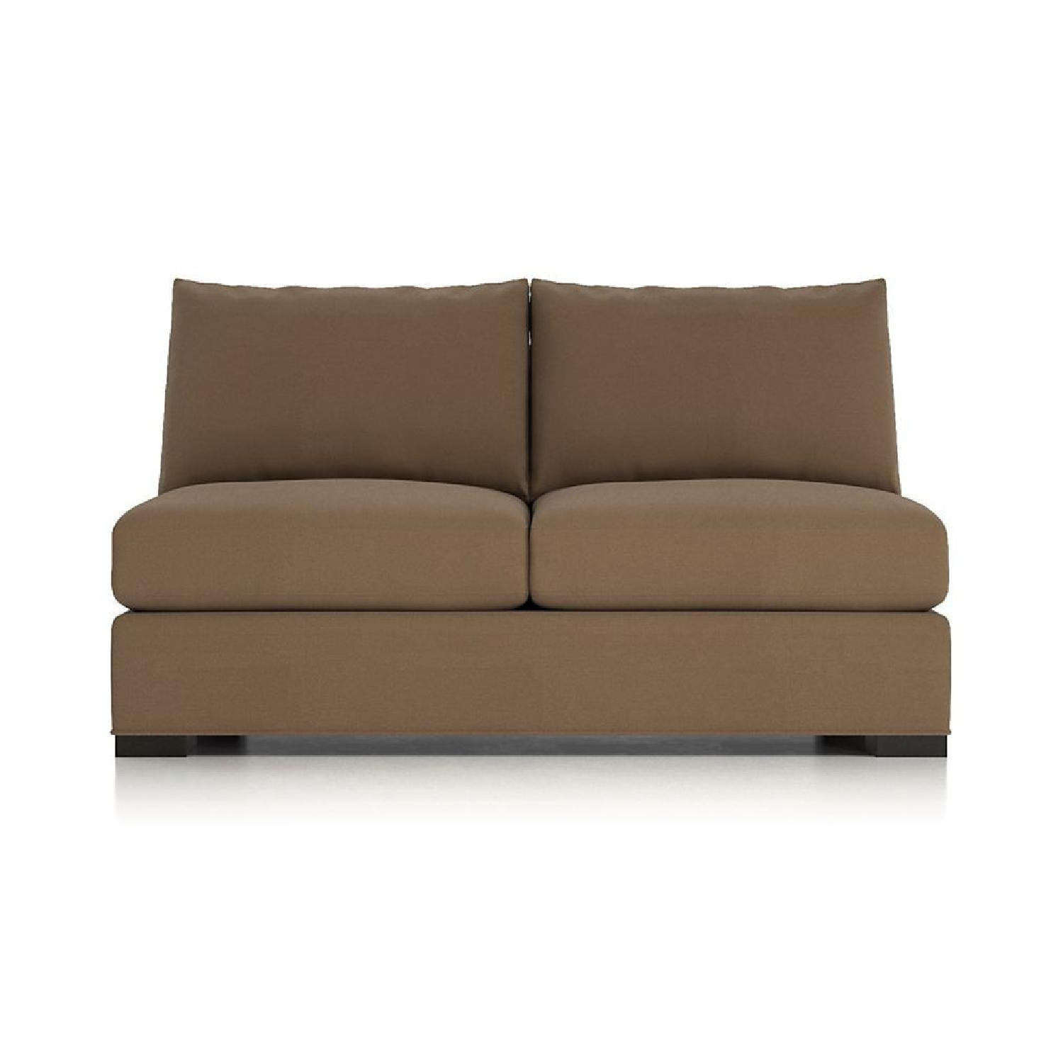 Crate & Barrel Axis 3-Piece Sectional Sofa - image-3