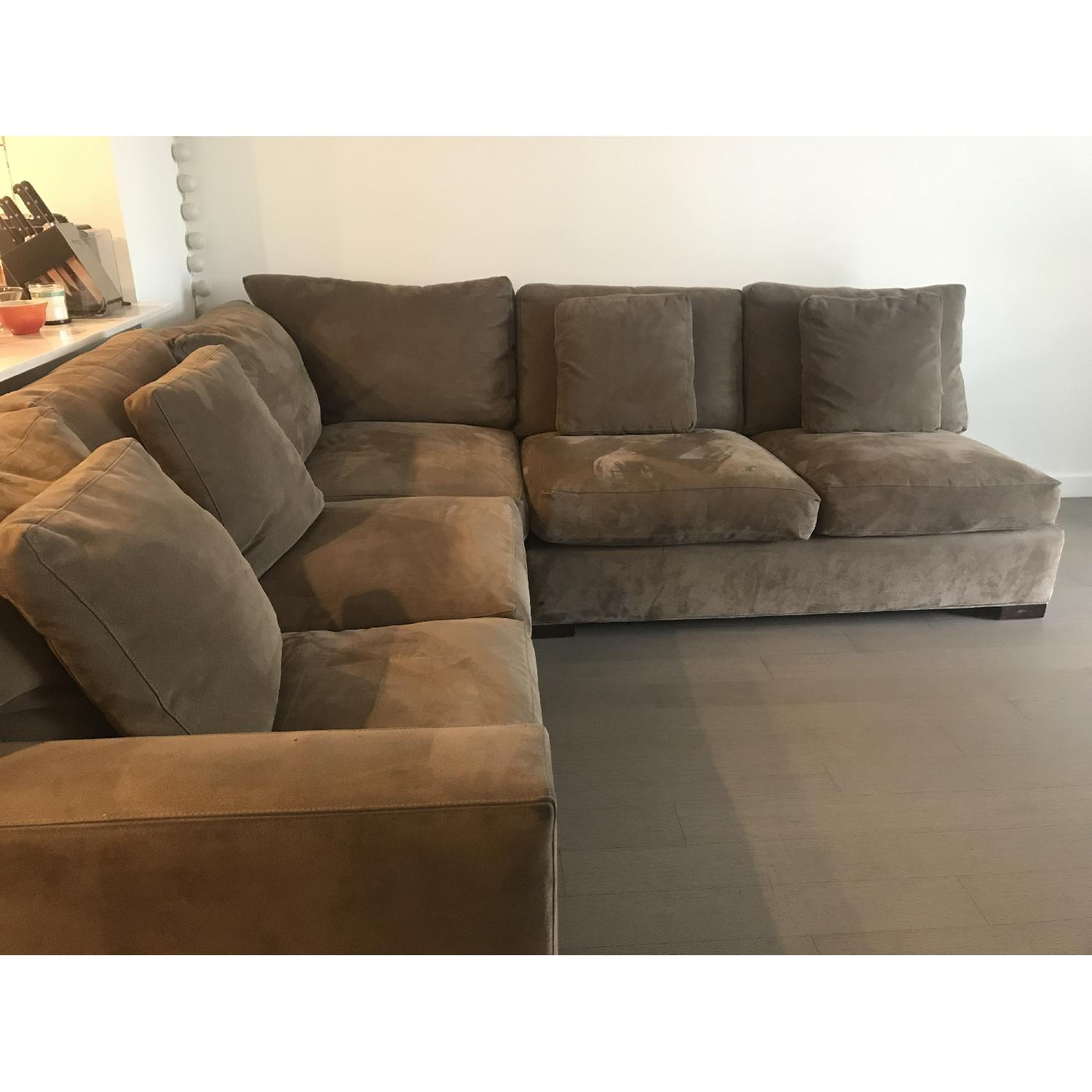 Crate & Barrel Axis 3-Piece Sectional Sofa - image-0