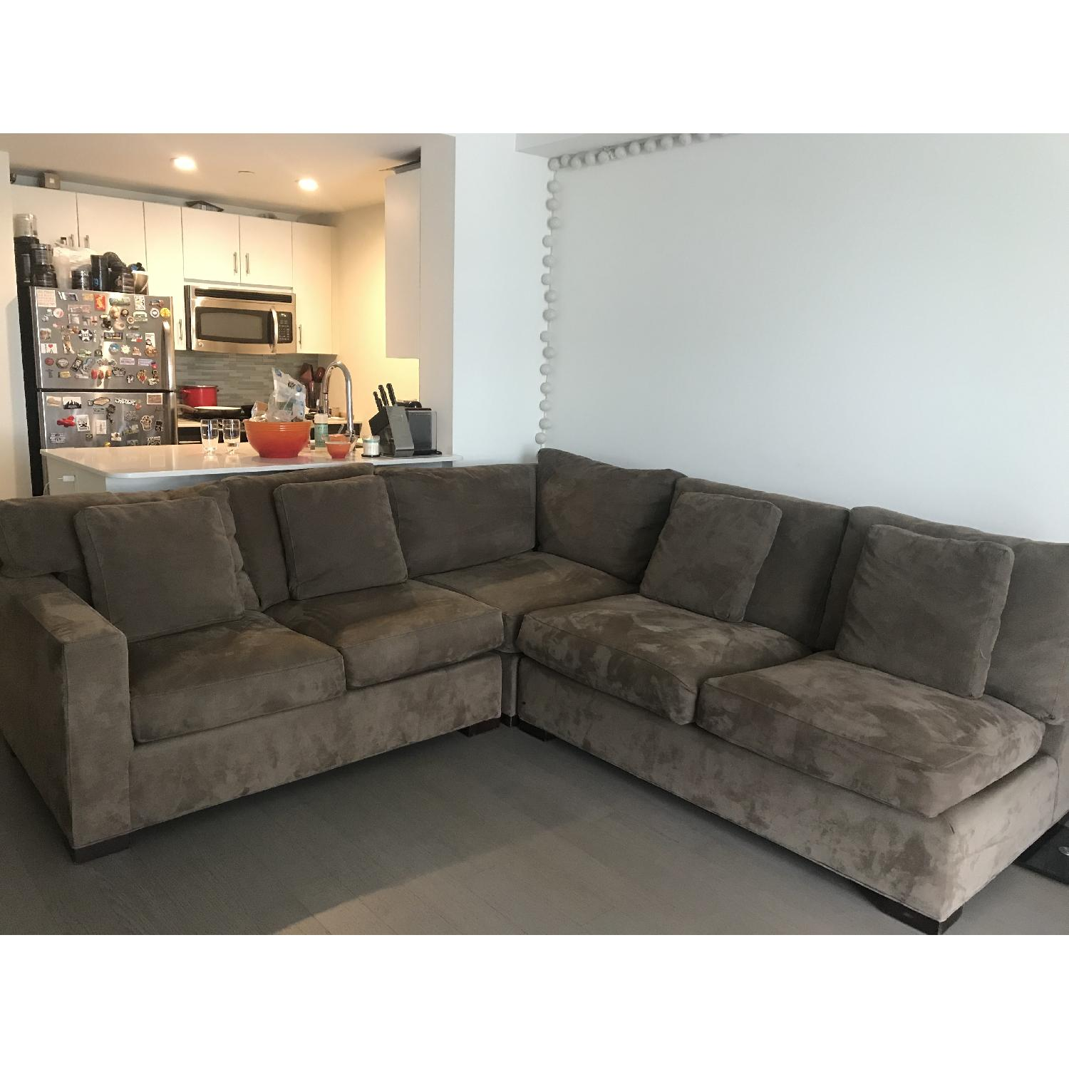Crate & Barrel Axis 3-Piece Sectional Sofa - image-7