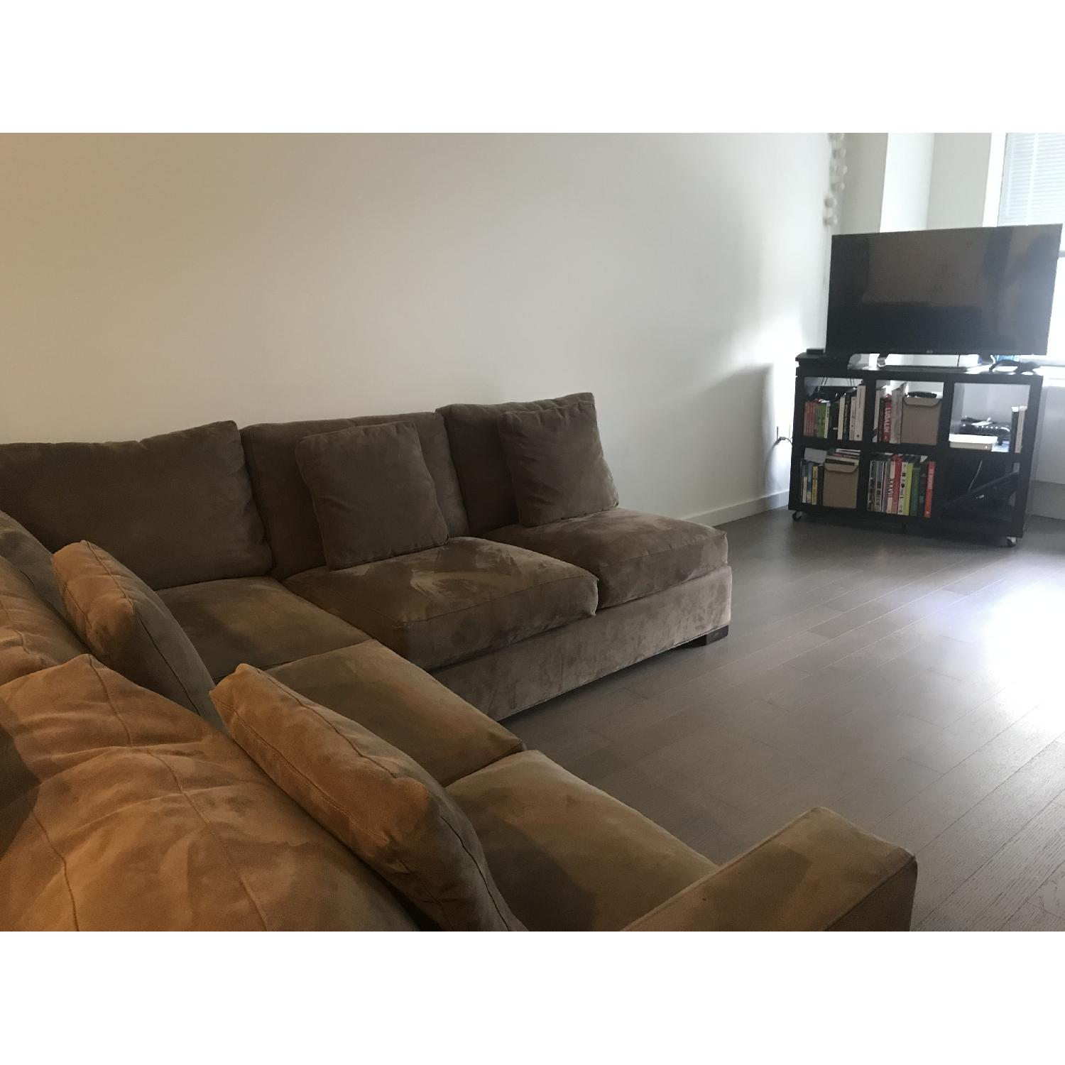 Crate & Barrel Axis 3-Piece Sectional Sofa - image-8