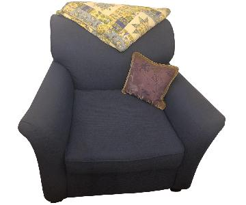 Overstuffed Arm Chair