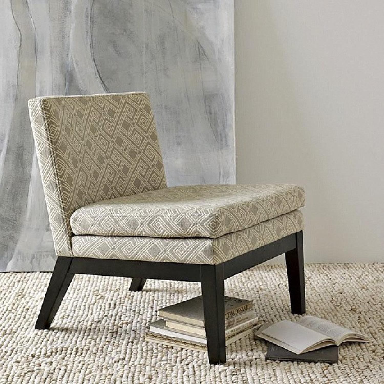 West Elm Upholstered Slipper Chair - image-7