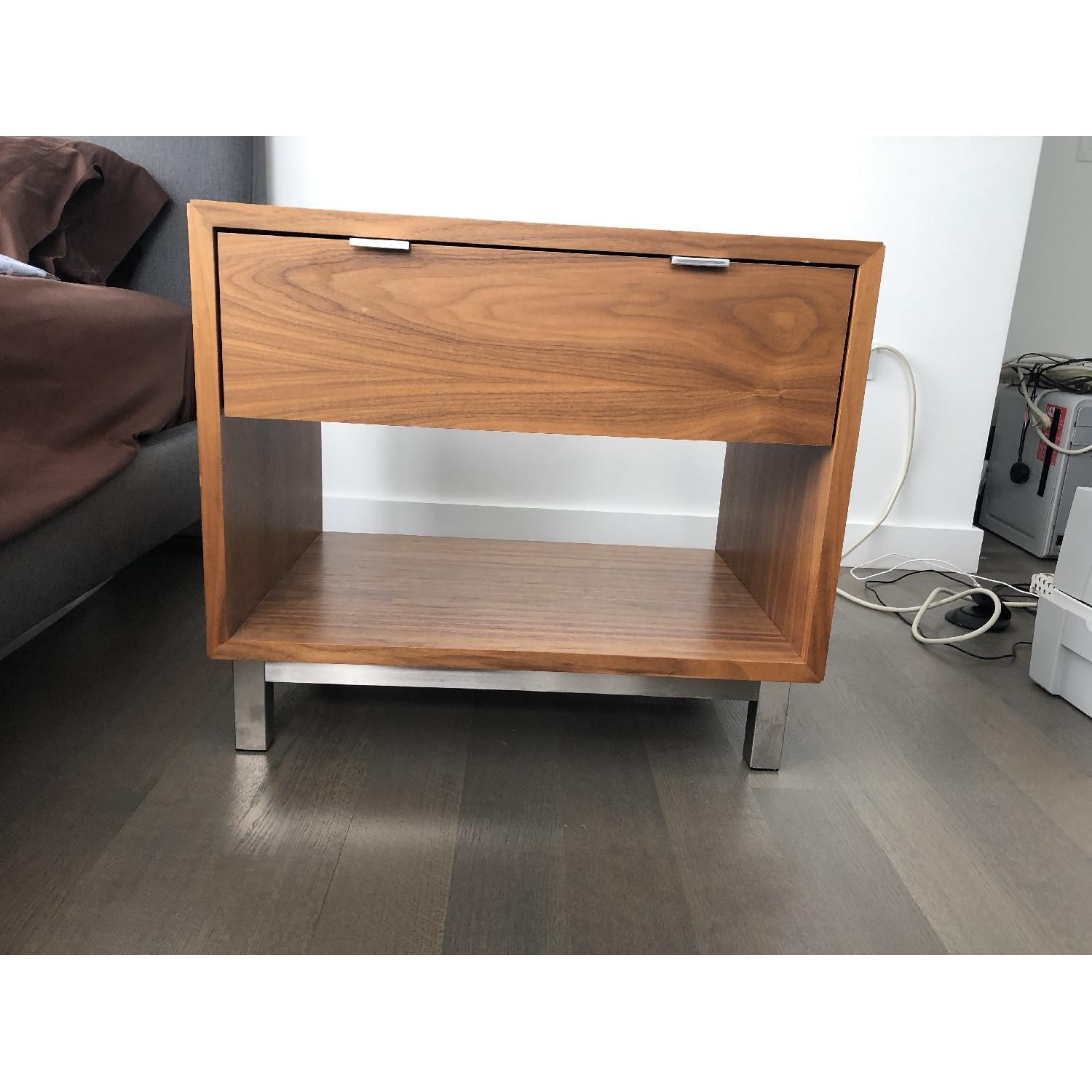 Room & Board Copenhagen Walnut Nightstand-0