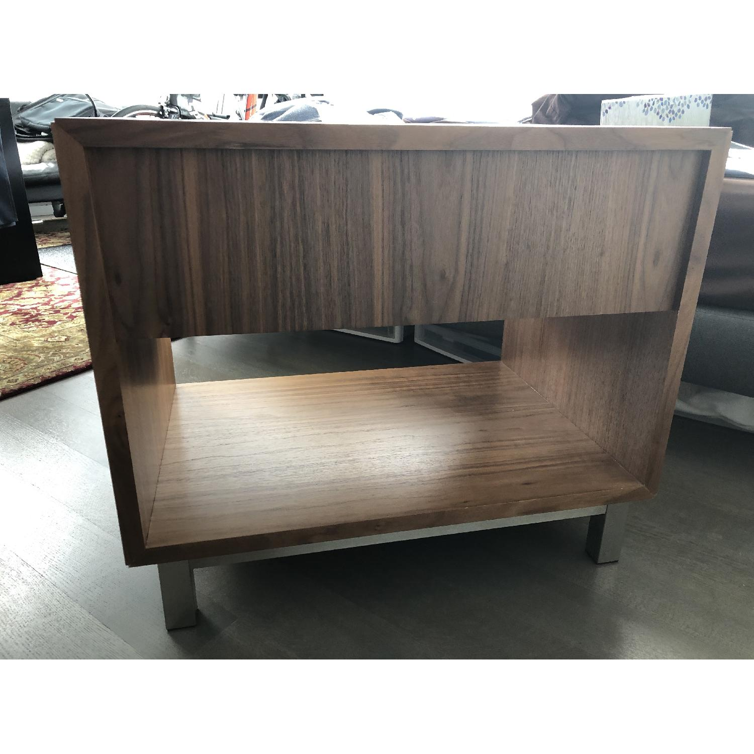 Room & Board Copenhagen Walnut Nightstand-1