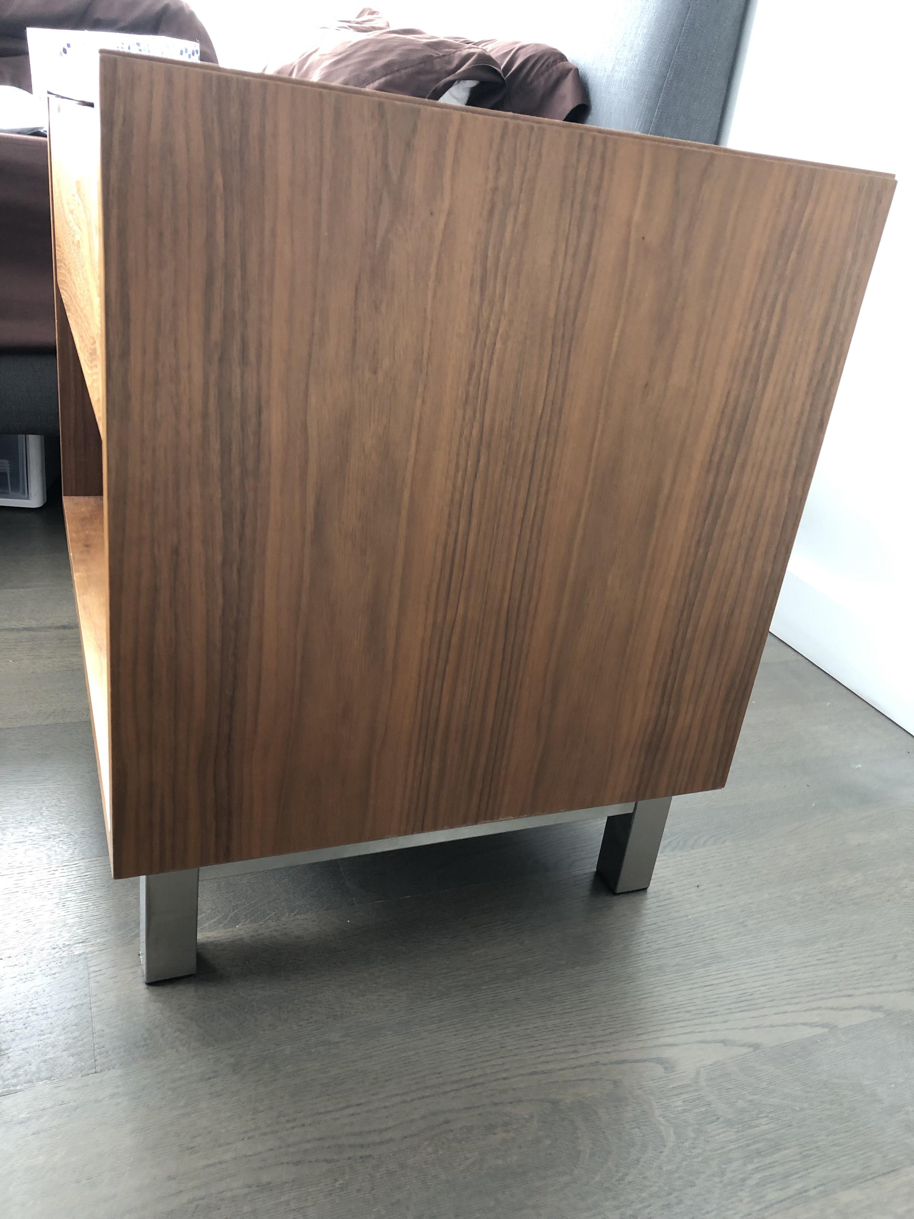 Room & Board Copenhagen Walnut Nightstand