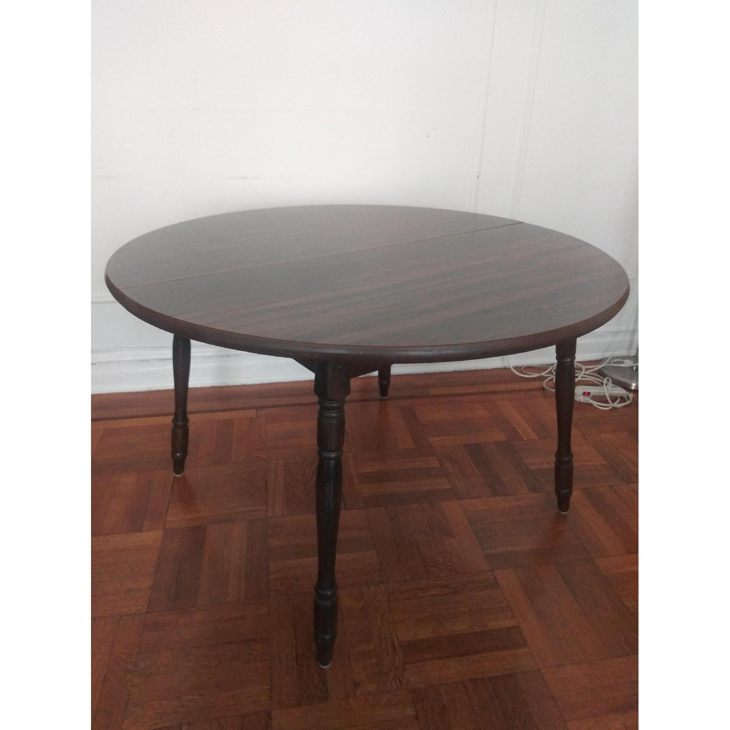 Solid Wood Round Dining Table - image-1