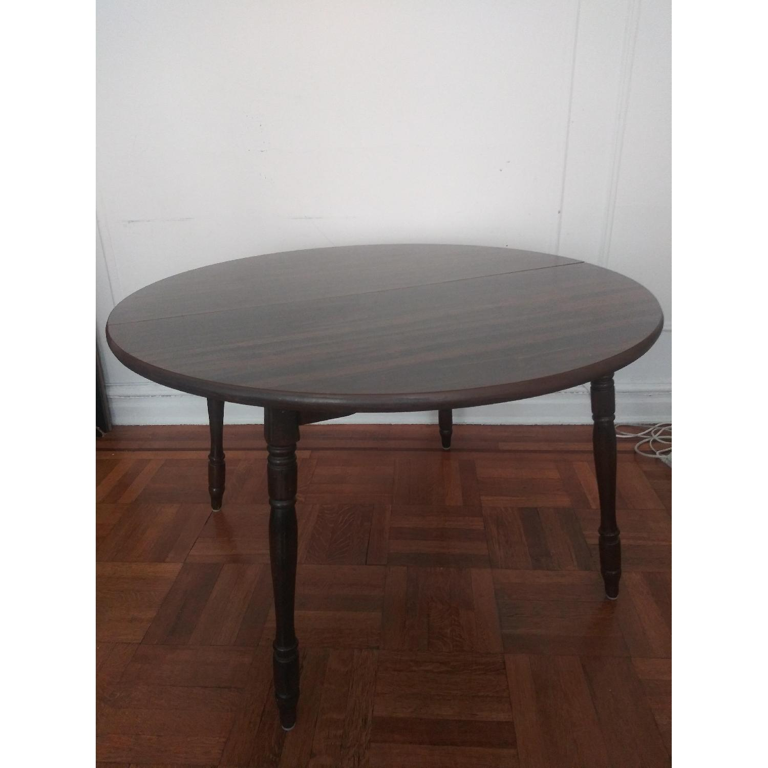 Solid Wood Round Dining Table - image-2