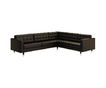 Ikea Landkrona 5 Seater Corner Sectional Sofa