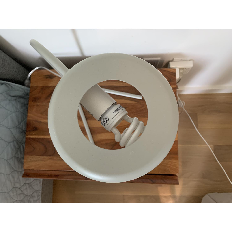 West Elm Grey Metal Modern Task/Table Lamp - image-3
