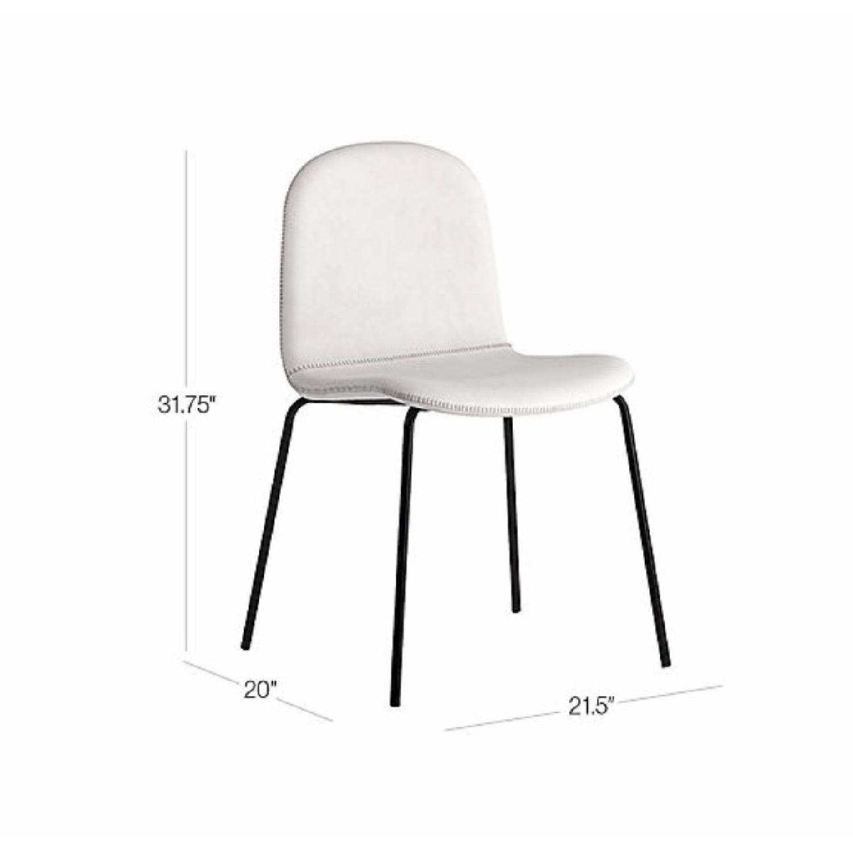CB2 Primitivo White Chair-0