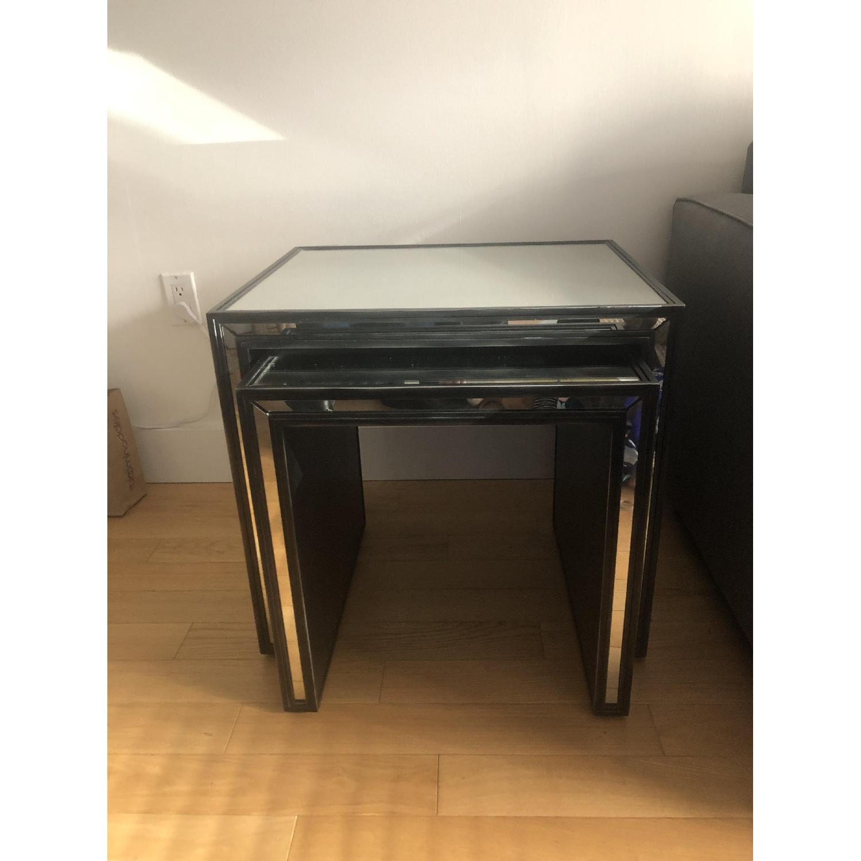 Restoration Hardware Strand Nesting Side Tables-0