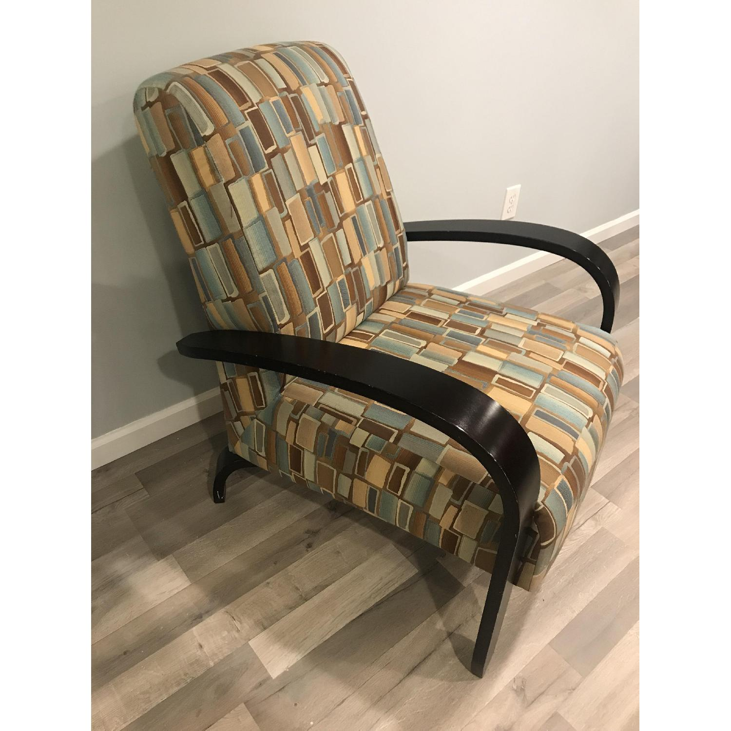 Wood & Fabric Upholstered Chairs - image-2