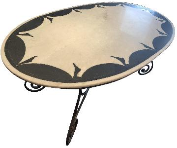 Marble Top Dining Table