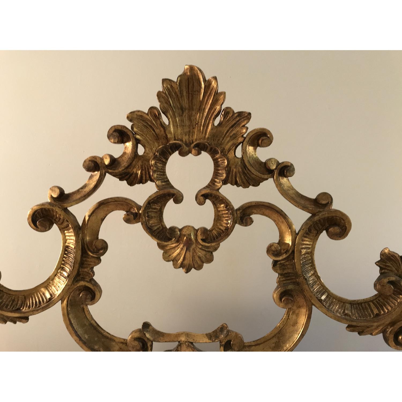 Karges King Giltwood Carved headboard - image-2