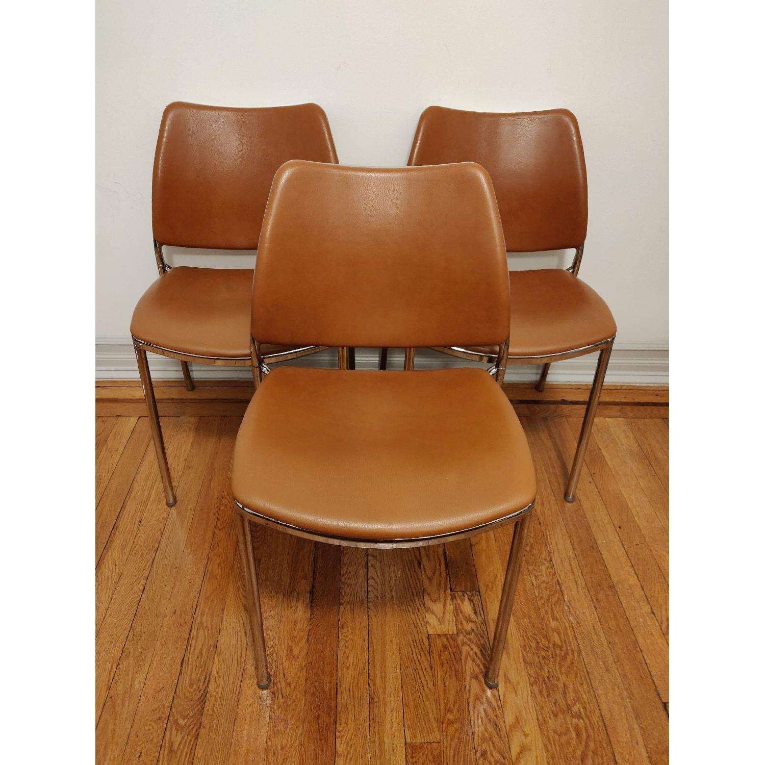 Stua Leather Gas Side Chairs - image-1