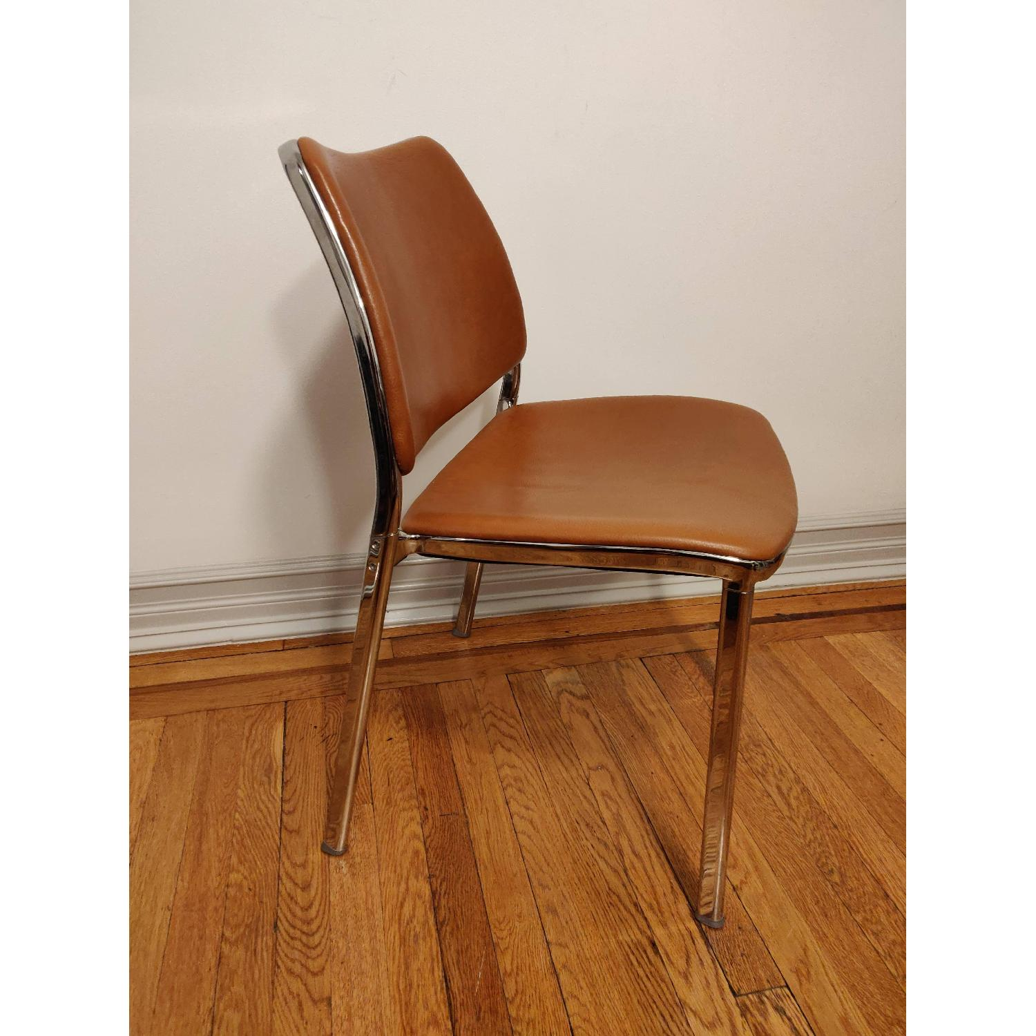 Stua Leather Gas Side Chairs - image-2