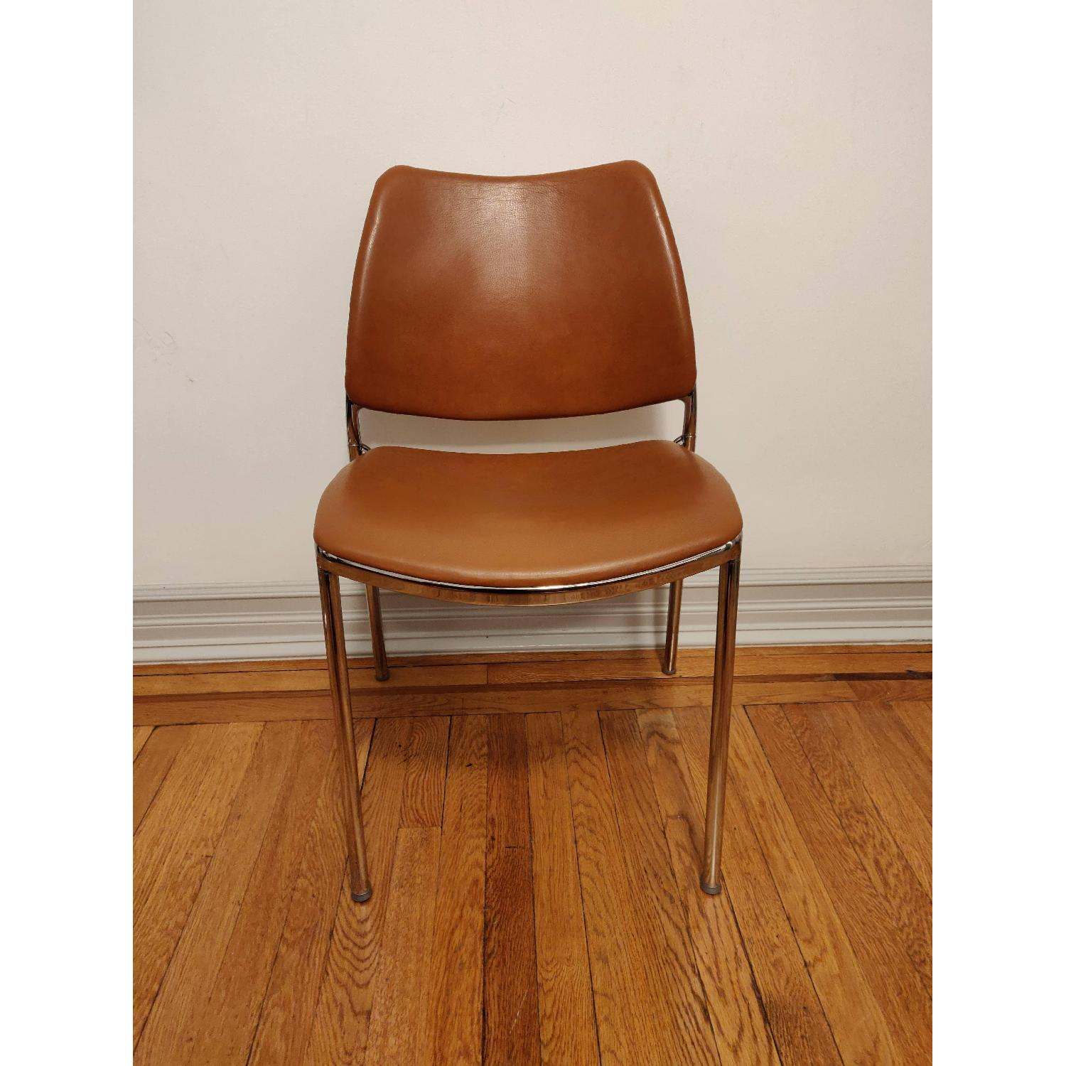 Stua Leather Gas Side Chairs - image-4