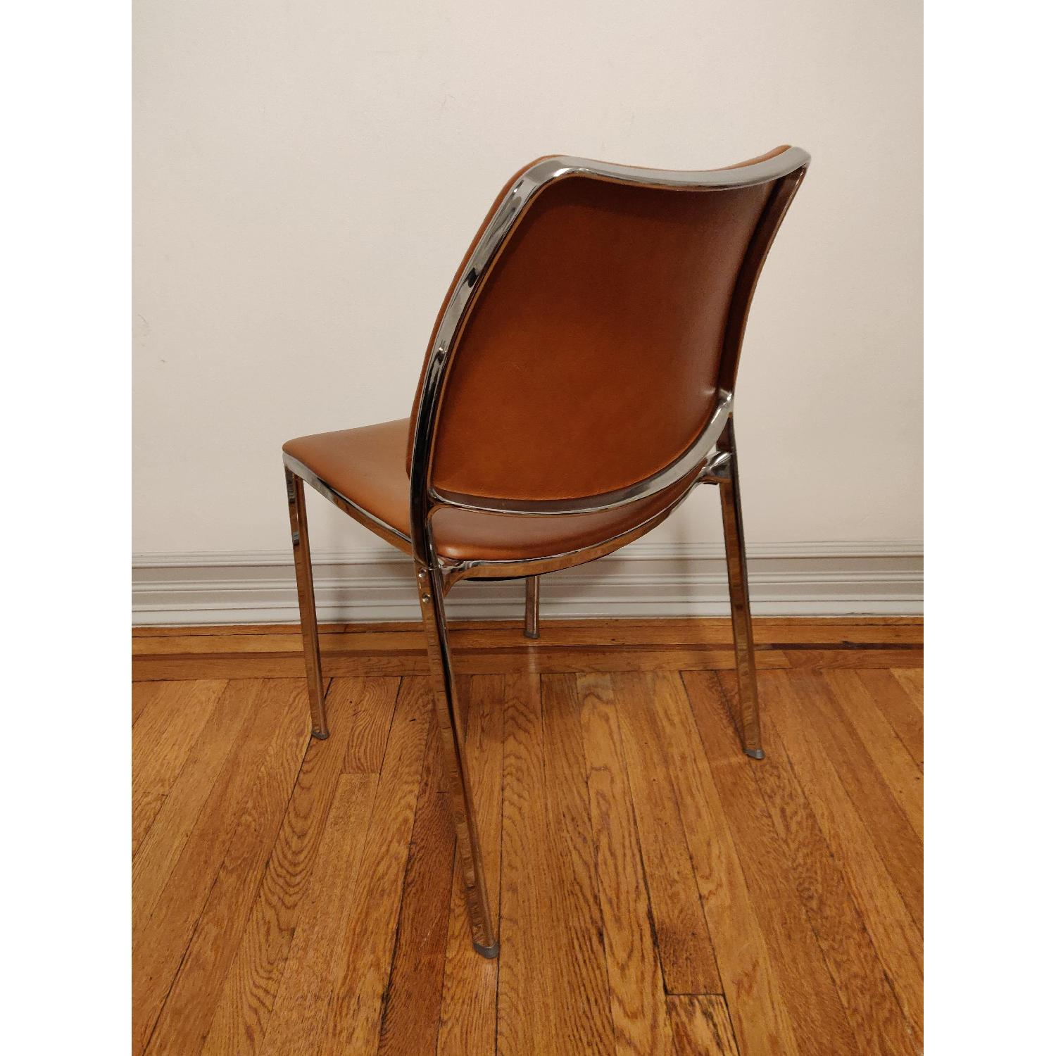 Stua Leather Gas Side Chairs - image-6