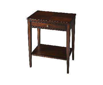 One Kings Lane Prenata Nightstands in Cherry