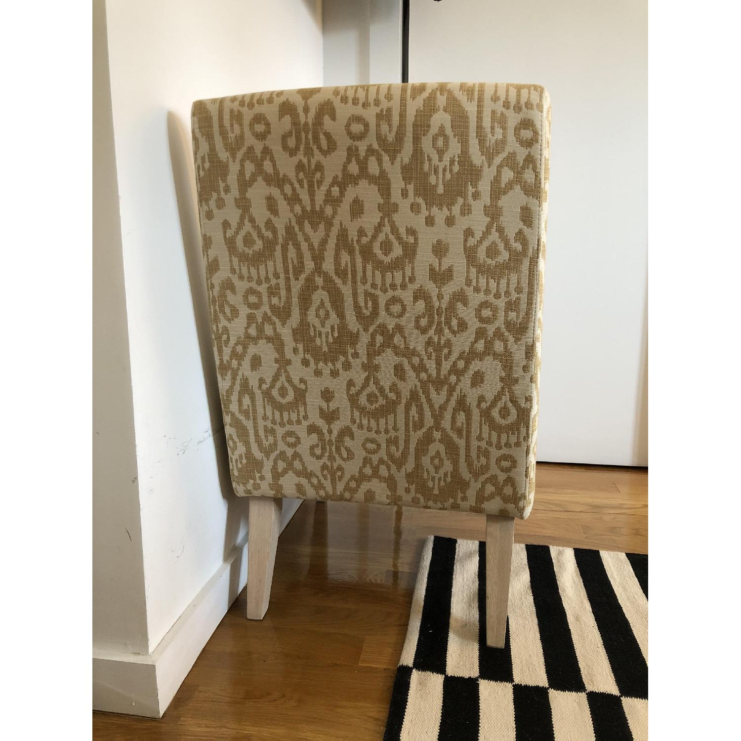West Elm Ikat Upholstered Slipper Accent Chair - image-2