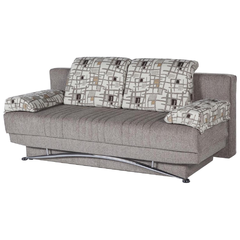 Twin Size Convertible Sleeper Sofa W Storage
