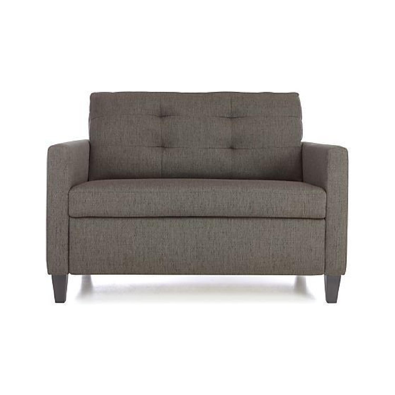 Crate & Barrel Karnes Twin Sleeper Sofa - image-0