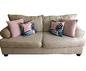 Bob's Kasey Ivory Sofa