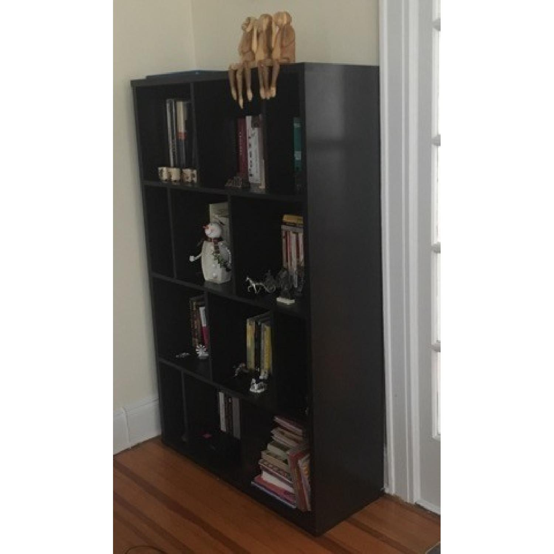 Geometric Wood Bookcase-1