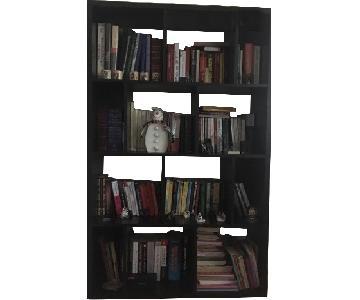Geometric Wood Bookcase